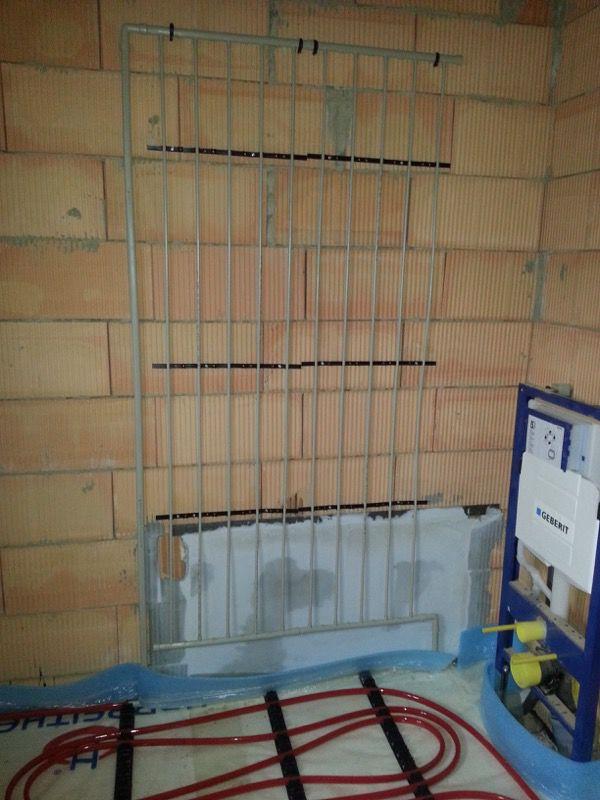 Infra stenové kúrenie achladenie pomocou stenových registrov HARREITHER Hitherm®