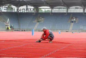 Vykurovanie futbalového ihriska so systémom HARREITHER JUMBOVAL